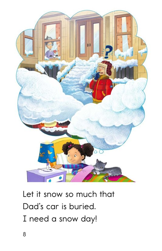 Book Preview For I Need a Snow Day! Page 8