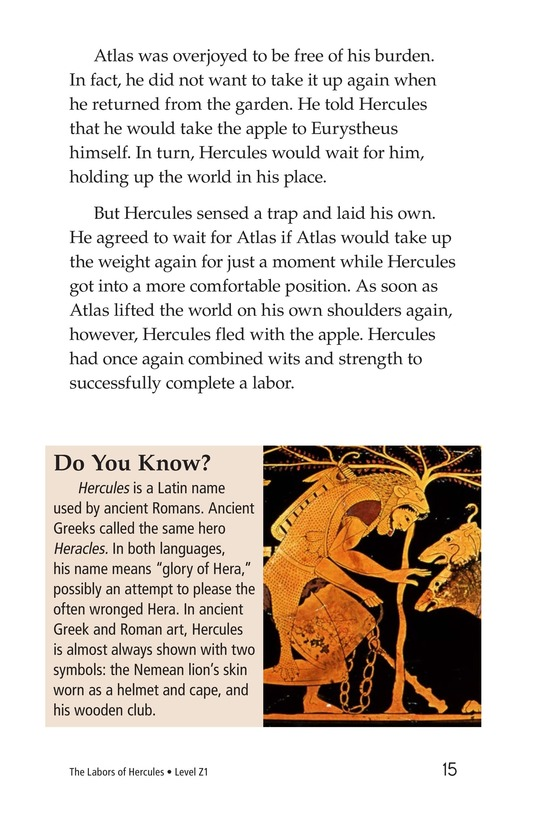Book Preview For The Labors of Hercules Page 15