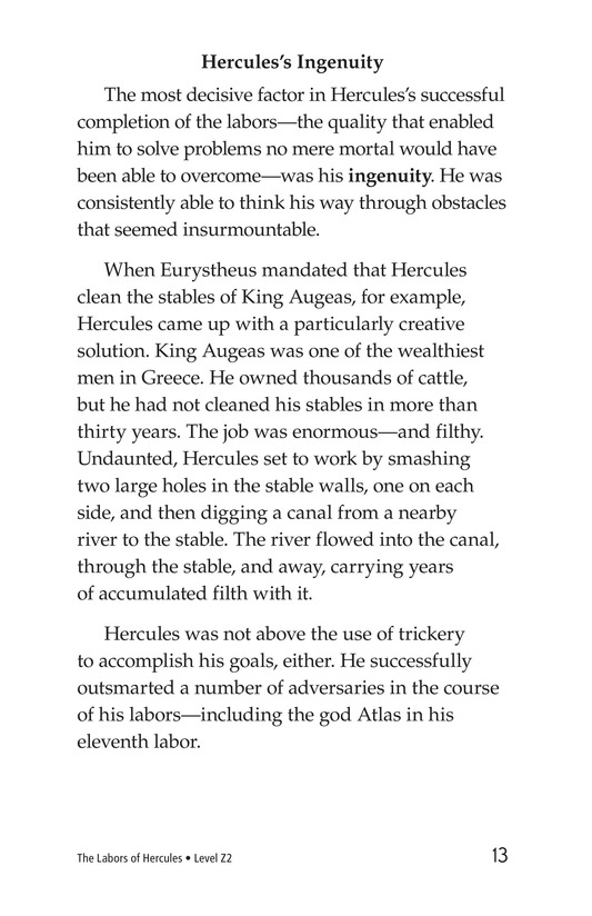 Book Preview For The Labors of Hercules Page 13
