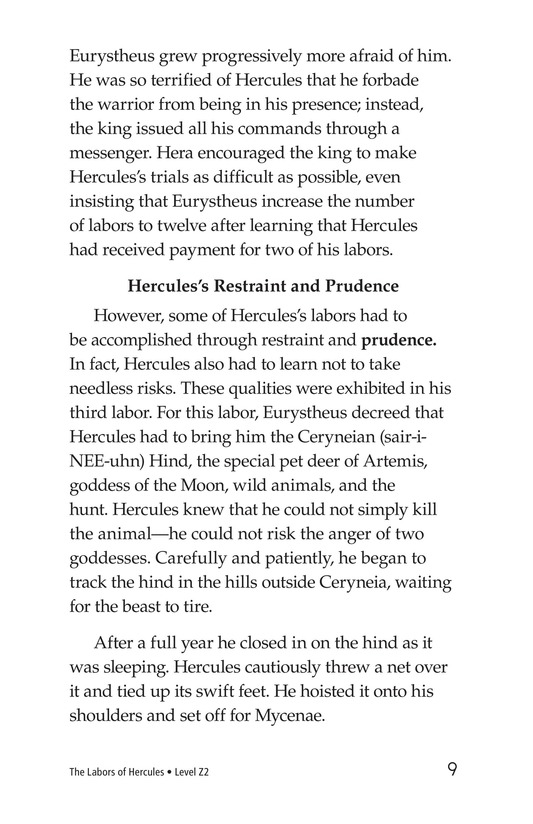 Book Preview For The Labors of Hercules Page 9