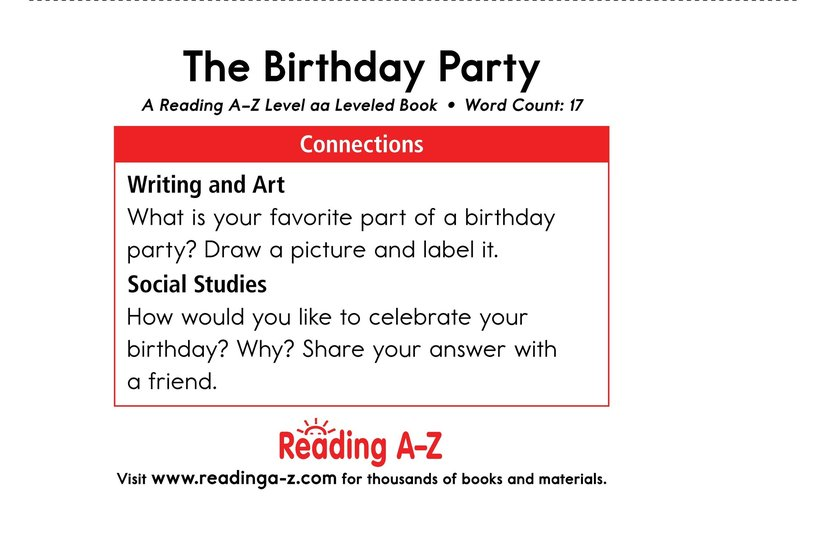 Book Preview For The Birthday Party Page 11