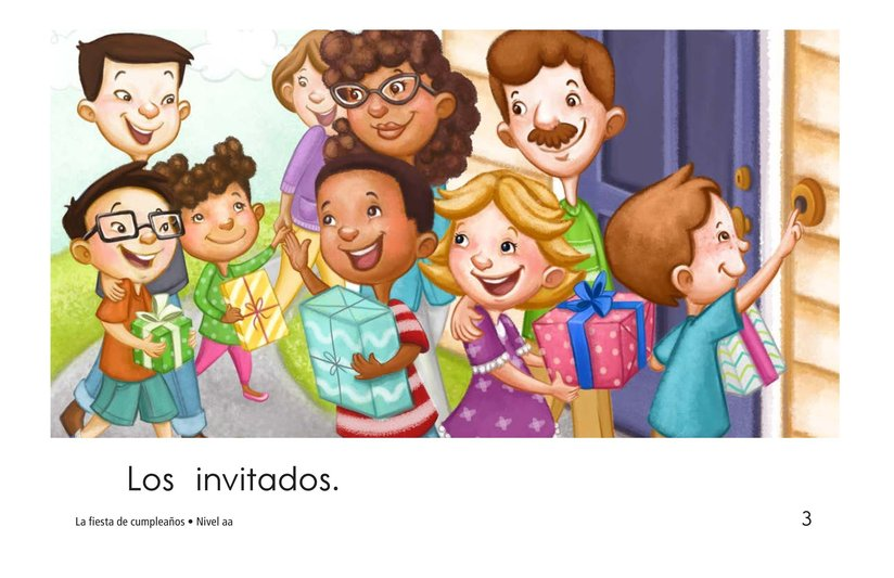 Book Preview For The Birthday Party Page 3