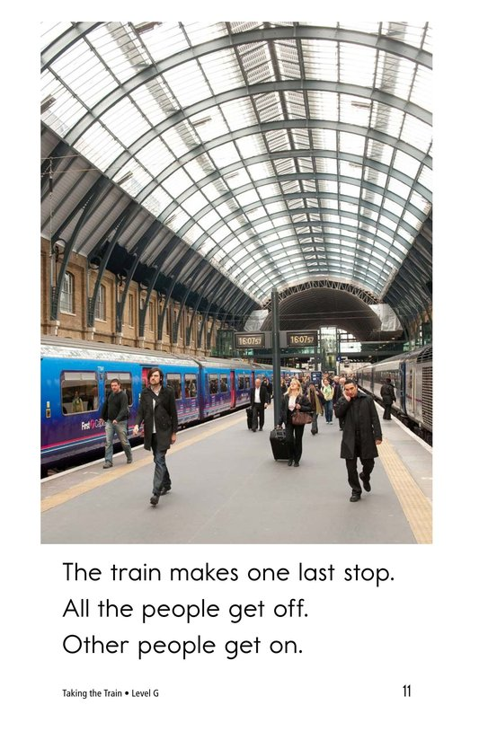 Book Preview For Taking the Train Page 11
