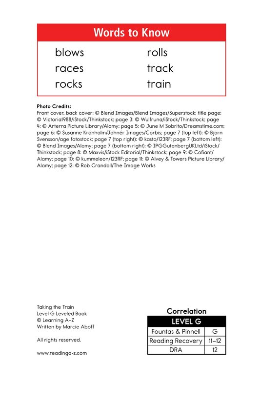 Book Preview For Taking the Train Page 2