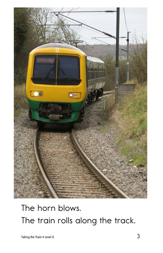 Book Preview For Taking the Train Page 3