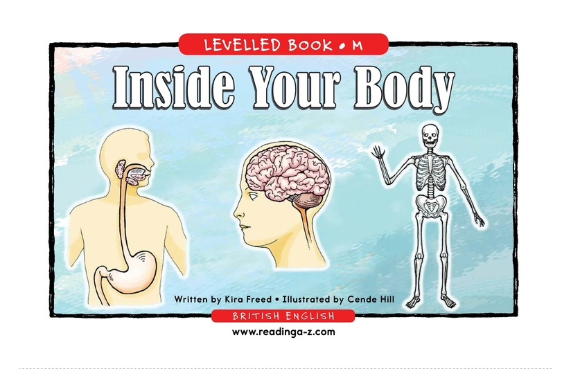 Book Preview For Inside Your Body Page 1