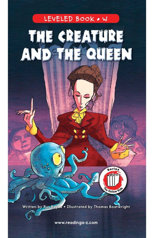 Book Preview For The Creature and the Queen Page 0