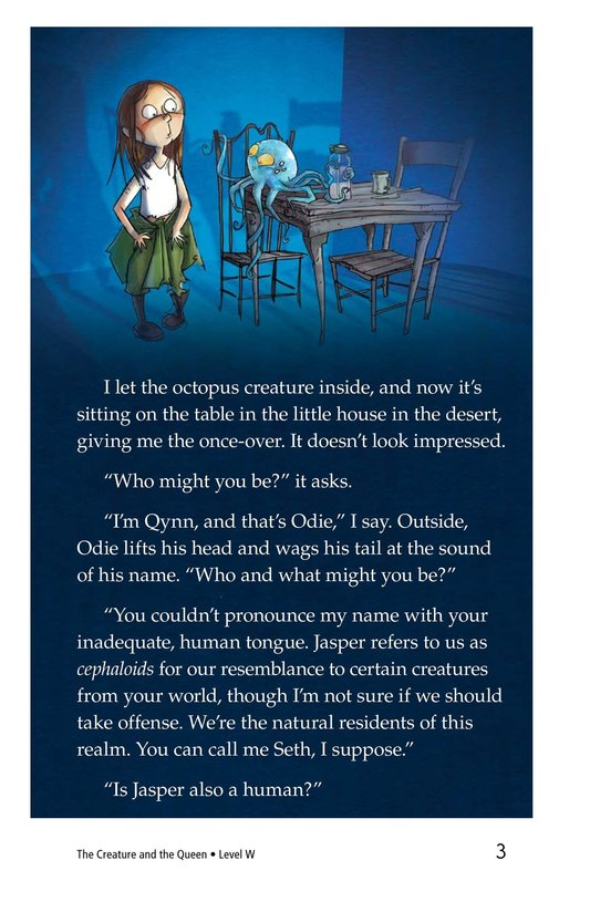 Book Preview For The Creature and the Queen Page 3