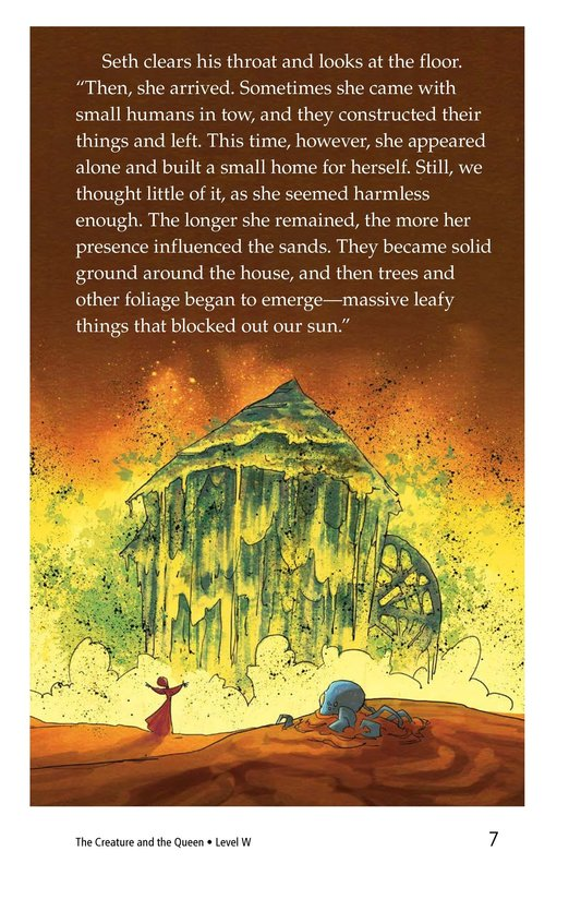 Book Preview For The Creature and the Queen Page 7