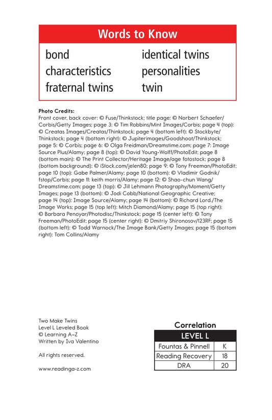Book Preview For Two Make Twins Page 2
