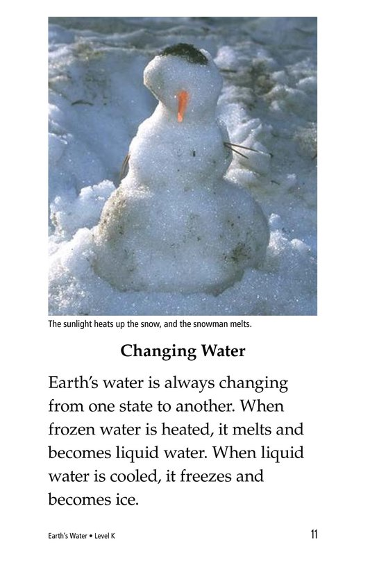Book Preview For Earth's Water Page 11