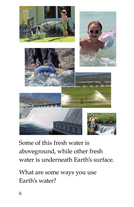 Book Preview For Earth's Water Page 6