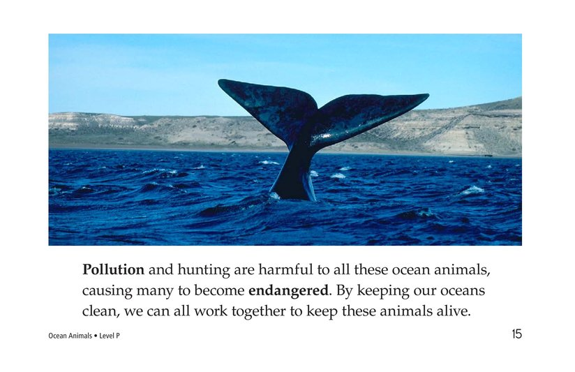 Book Preview For Ocean Animals Page 15