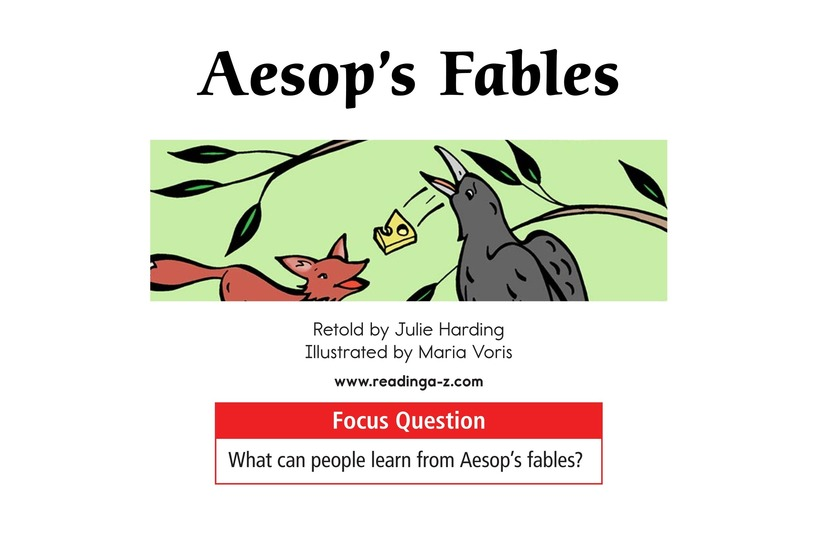 Book Preview For Aesop's Fables Page 1