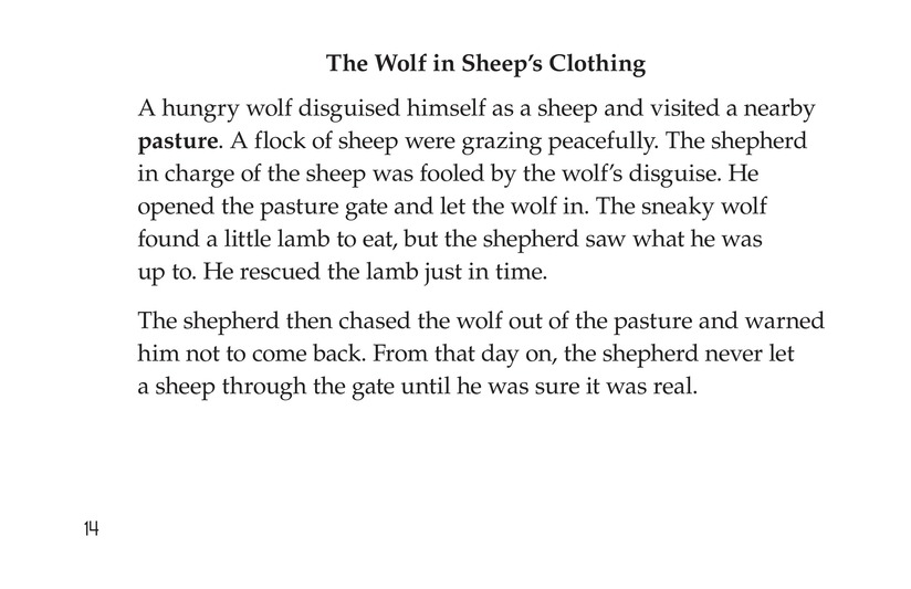 Book Preview For Aesop's Fables Page 14