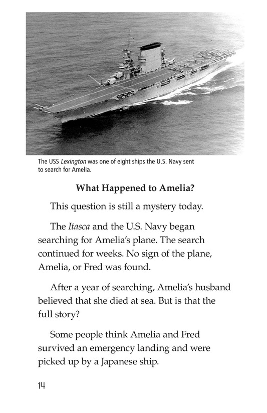 Book Preview For Amelia Earhart: A Legend in Flight Page 14