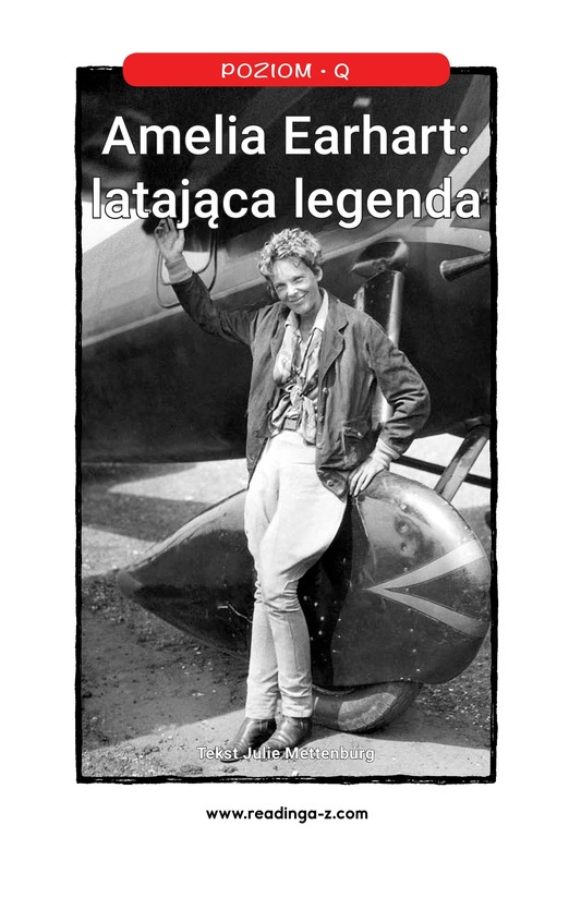 Book Preview For Amelia Earhart: A Legend in Flight Page 0