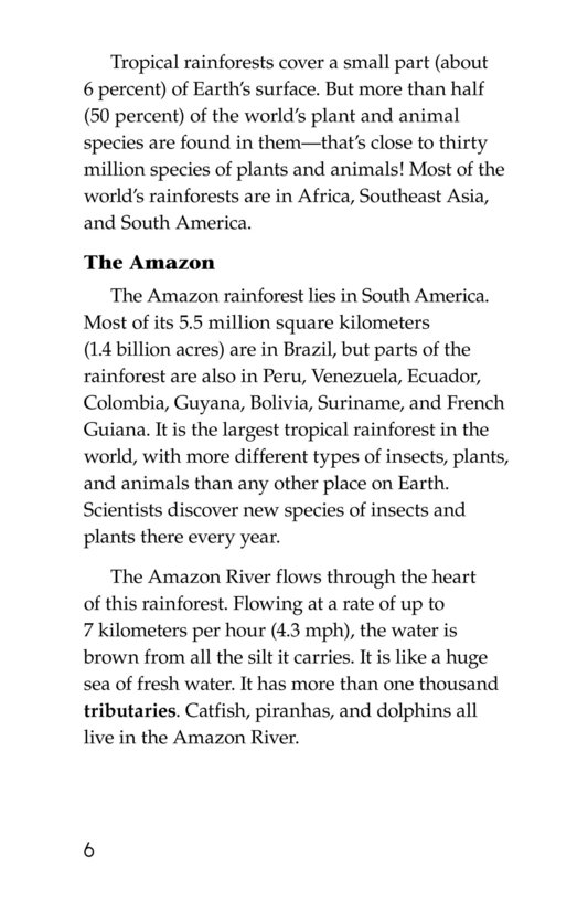 Book Preview For The Amazing Amazon Page 6