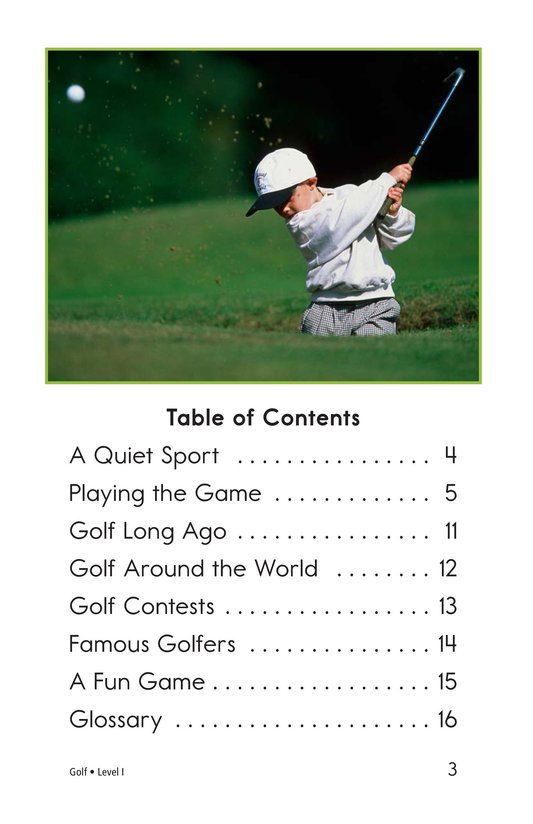 Book Preview For Golf Page 3