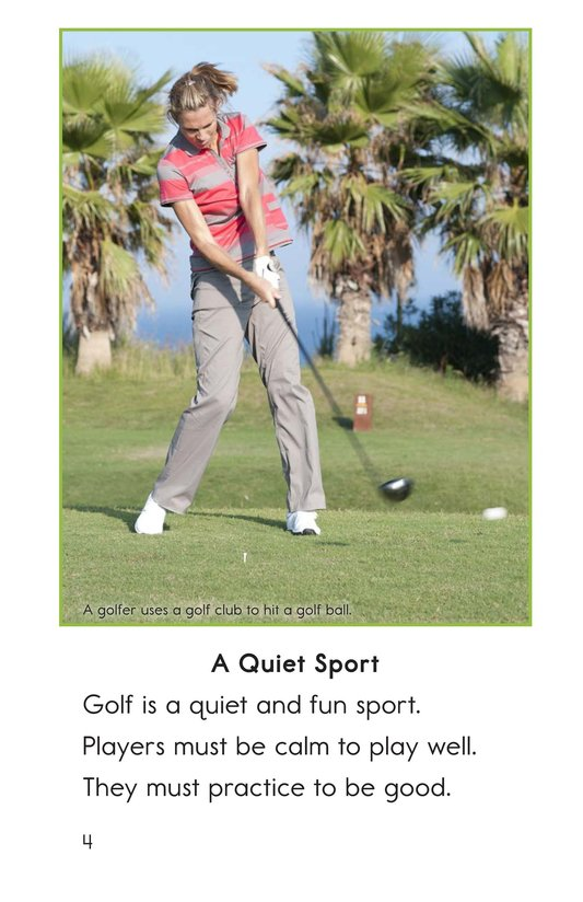 Book Preview For Golf Page 4