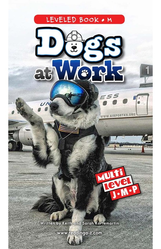 Book Preview For Dogs at Work Page 0