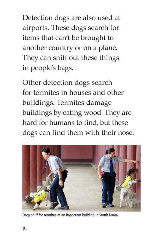 Book Preview For Dogs at Work Page 14