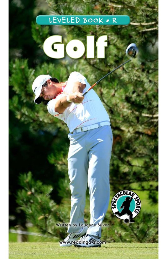 Book Preview For Golf Page 0
