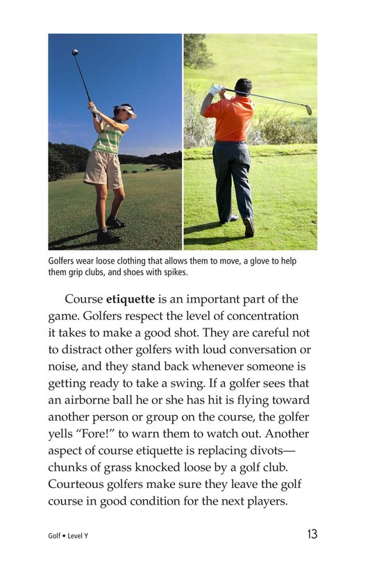 Book Preview For Golf Page 13