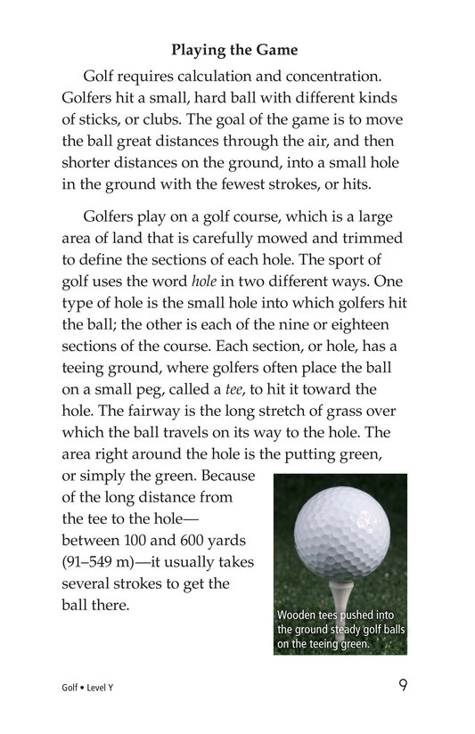 Book Preview For Golf Page 9