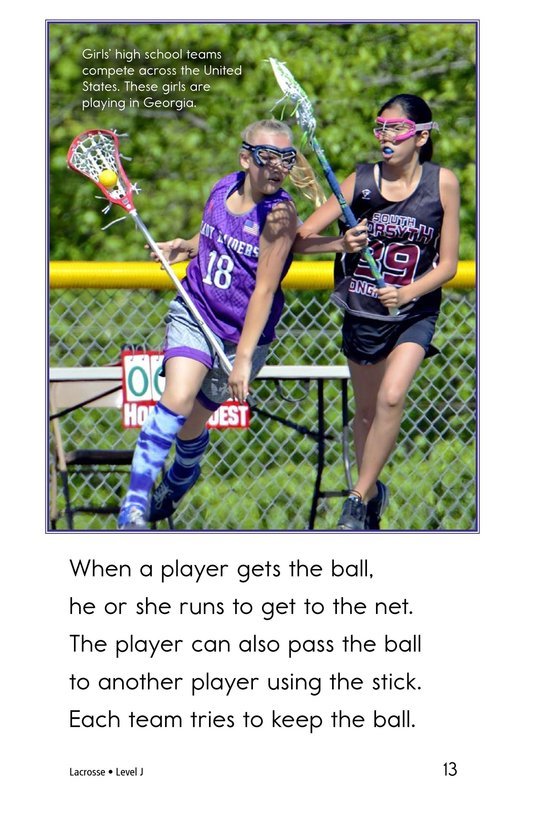 Book Preview For Lacrosse Page 13