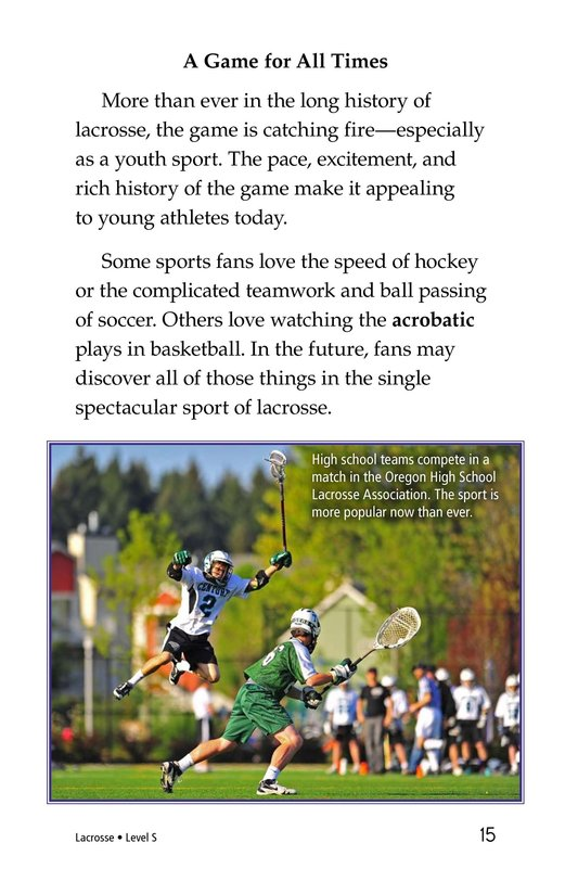 Book Preview For Lacrosse Page 15