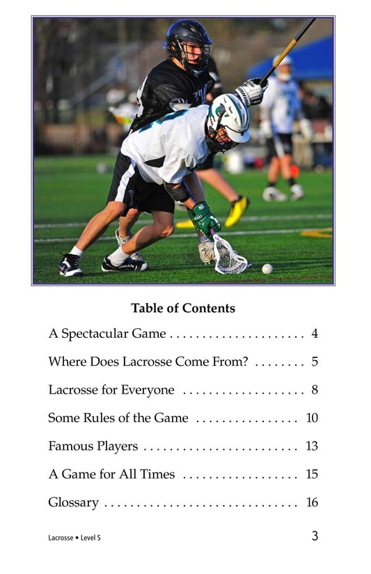 Book Preview For Lacrosse Page 3