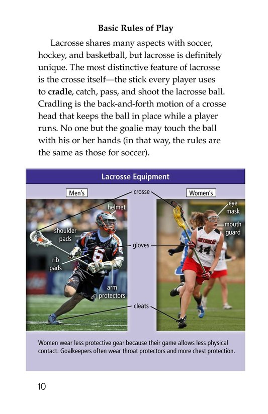 Book Preview For Lacrosse Page 10