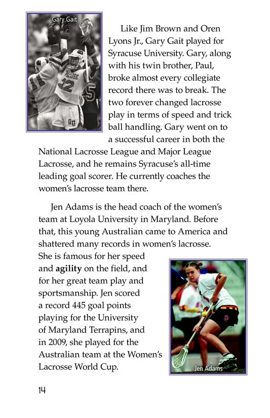 Book Preview For Lacrosse Page 14