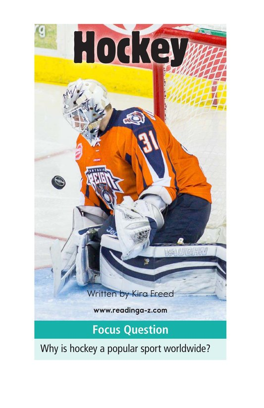 Book Preview For Hockey Page 1