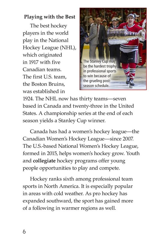 Book Preview For Hockey Page 6