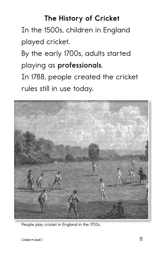 Book Preview For Cricket Page 11