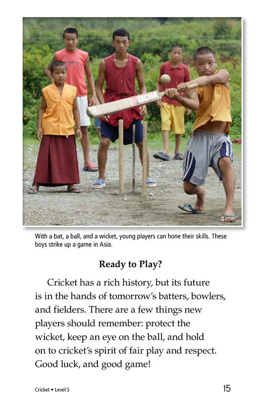 Book Preview For Cricket Page 15