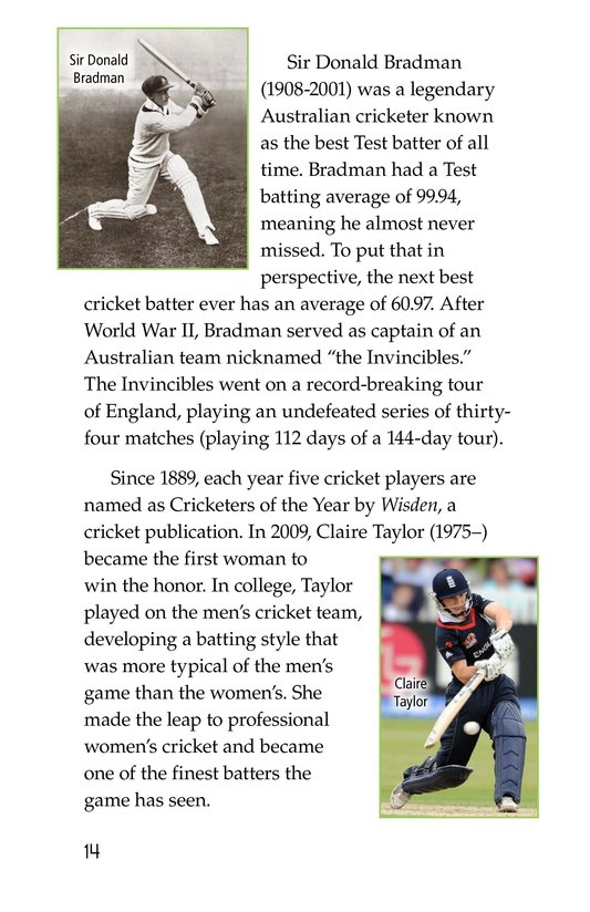Book Preview For Cricket Page 14