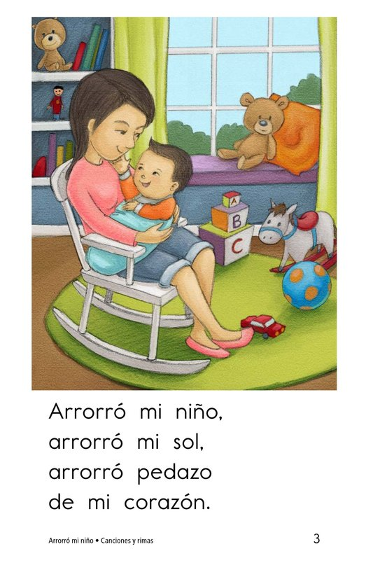 Book Preview For Arrorró mi niño Page 3