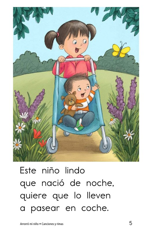 Book Preview For Arrorró mi niño Page 5