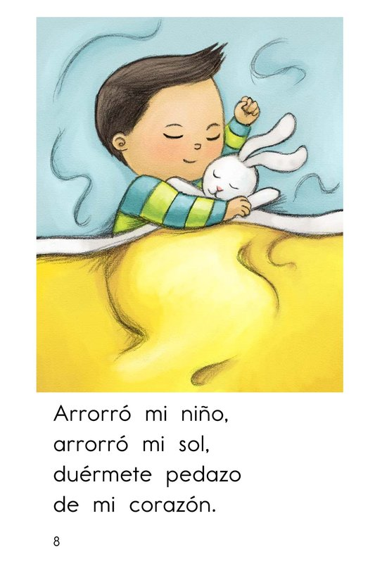 Book Preview For Arrorró mi niño Page 8