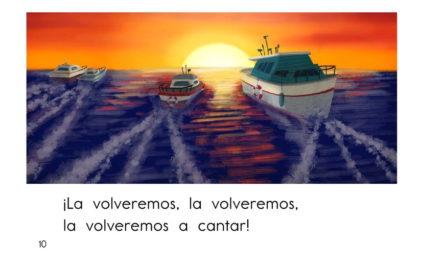 Book Preview For El barco chiquitito Page 10