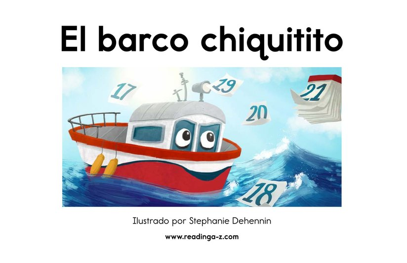 Book Preview For El barco chiquitito Page 2