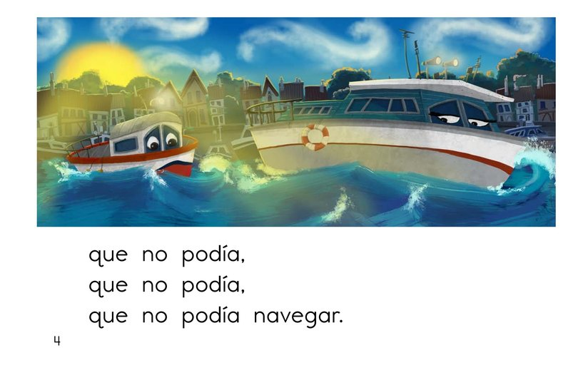Book Preview For El barco chiquitito Page 4