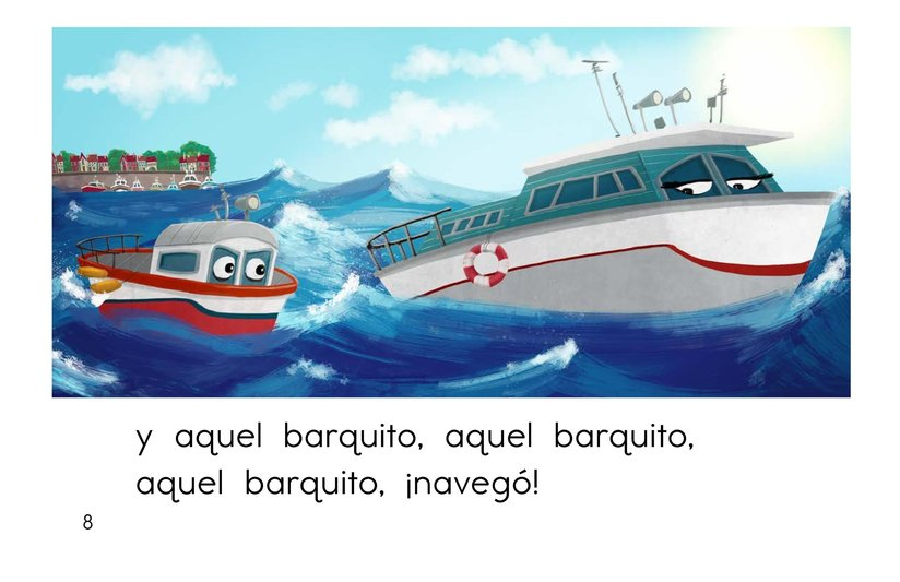 Book Preview For El barco chiquitito Page 8