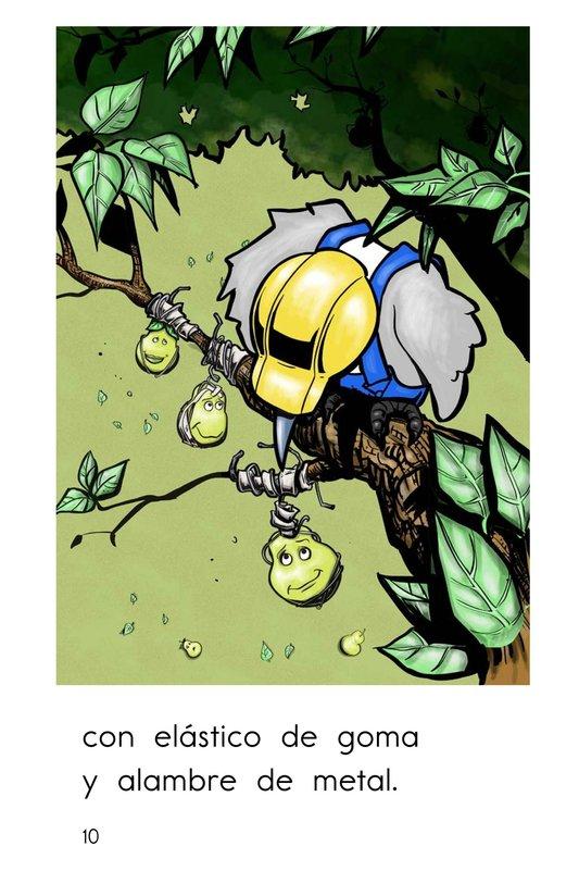 Book Preview For El pájaro carpintero Page 10