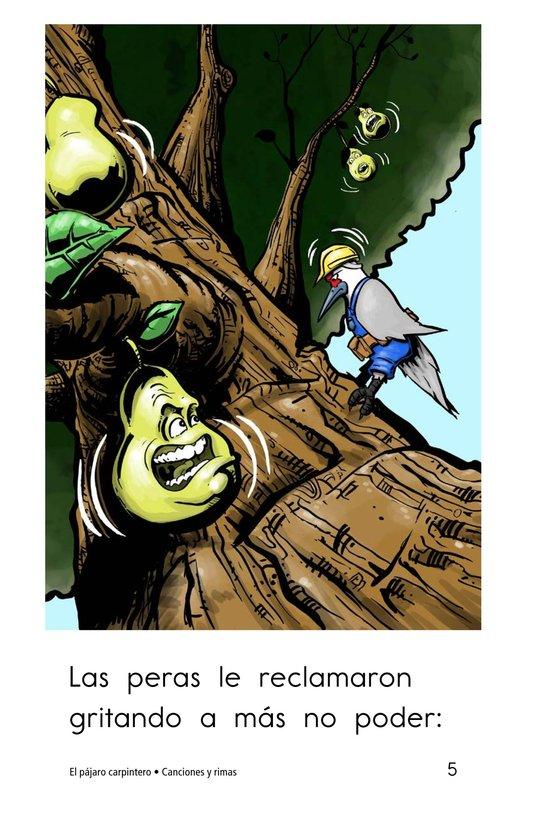 Book Preview For El pájaro carpintero Page 5