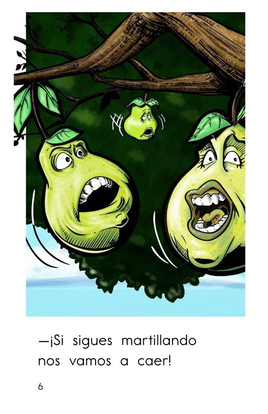 Book Preview For El pájaro carpintero Page 6
