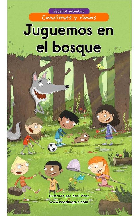 Book Preview For Juguemos en el bosque Page 1